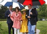Sarah-Todd-Marylou Whitney - John Hendrickson arriving at fundraiser for Headley-Whitney Museum in KY