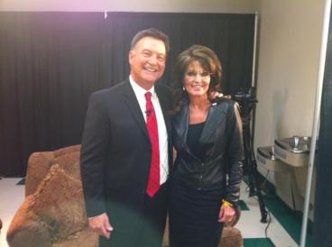 Sarah with Don Nelson in Idaho - October 2012
