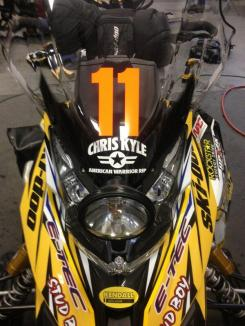 Team 11 Decal - Chris Kyle RIP