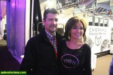 Todd and Sarah pose at Collector Car Auction in Scottsdale Arizona