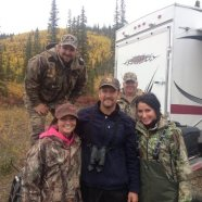 Todd - Bristo - Willow - and friends moose hunting