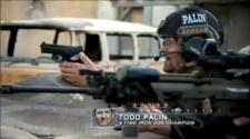 Todd getting ready to shoot pistol during SES finale