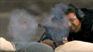 Todd shooting MRAD during SES finale shootout