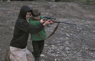 Track-Palin and Teko Heath rifle training